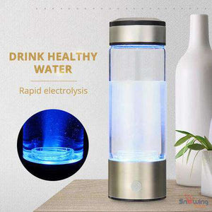 H-Gen™ Hydrogen Ionizer - Alkaline Water Bottle - Snowing Deals