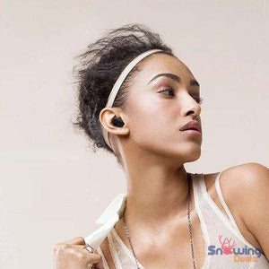 Best In Ear Bluetooth Headphones - With Charging Box - Snowing Deals