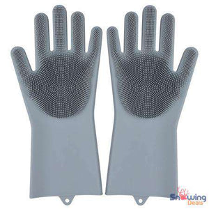 Dishwashing Gloves - Heat Resistant Silicon Gloves - Snowing Deals