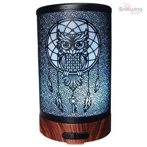 Waterless Essential Oil Diffuser - Snowing Deals