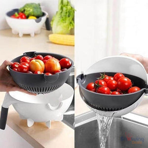 The Best Deals Online - Rotating Vegetable Cutter - Easy Drainage