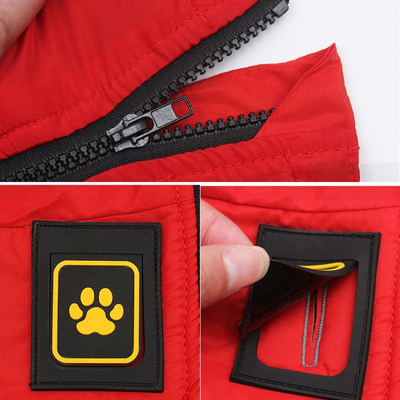 BUY 1 GET 1 Winter Dog Clothes Reflective Safety Dog