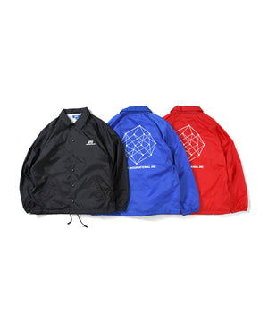 LA201001 LFYT INTERNATIONAL, INC. RAGLAN NYLON COACH JACKET RED