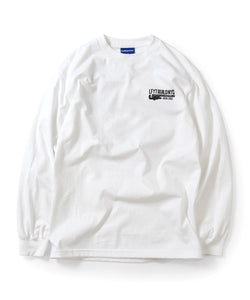 Lafayette NEVER BACK DOWN L/S TEE LS200105 WHITE