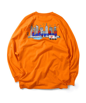 Lafayette × CLEOFUS CITY L/S TEE LS200108 ORANGE
