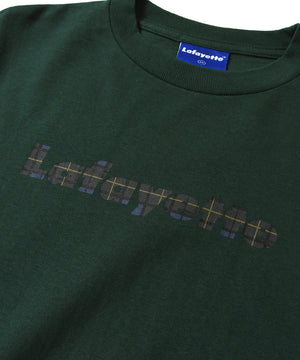Lafayette CHECK LOGO L/S TEE LS200110 GREEN