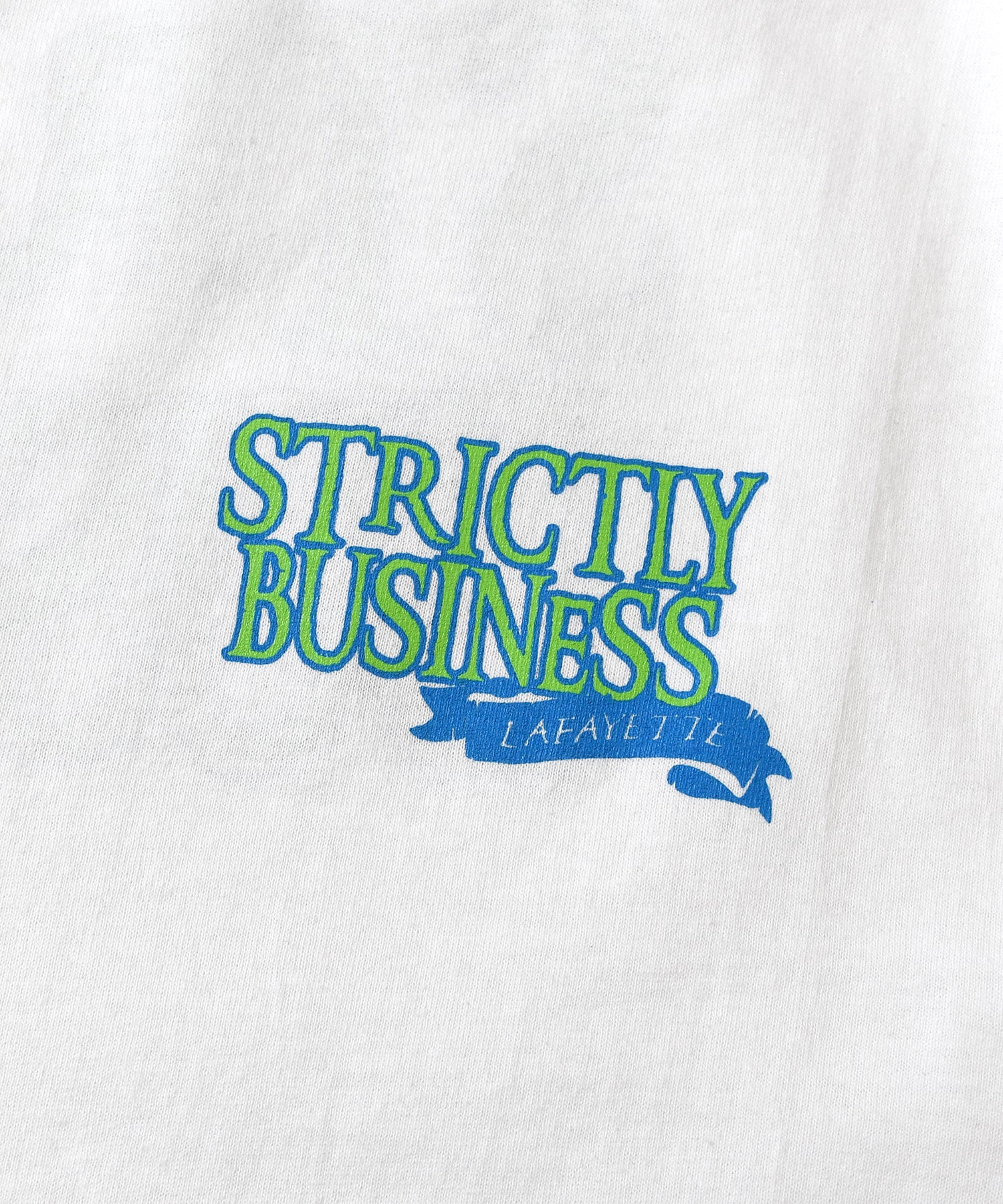 Lafayette STRICTLY BUSINESS L/S TEE LS200111 WHITE