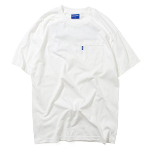 Lafayette HIGHEST POCKET TEE LS200113 WHITE