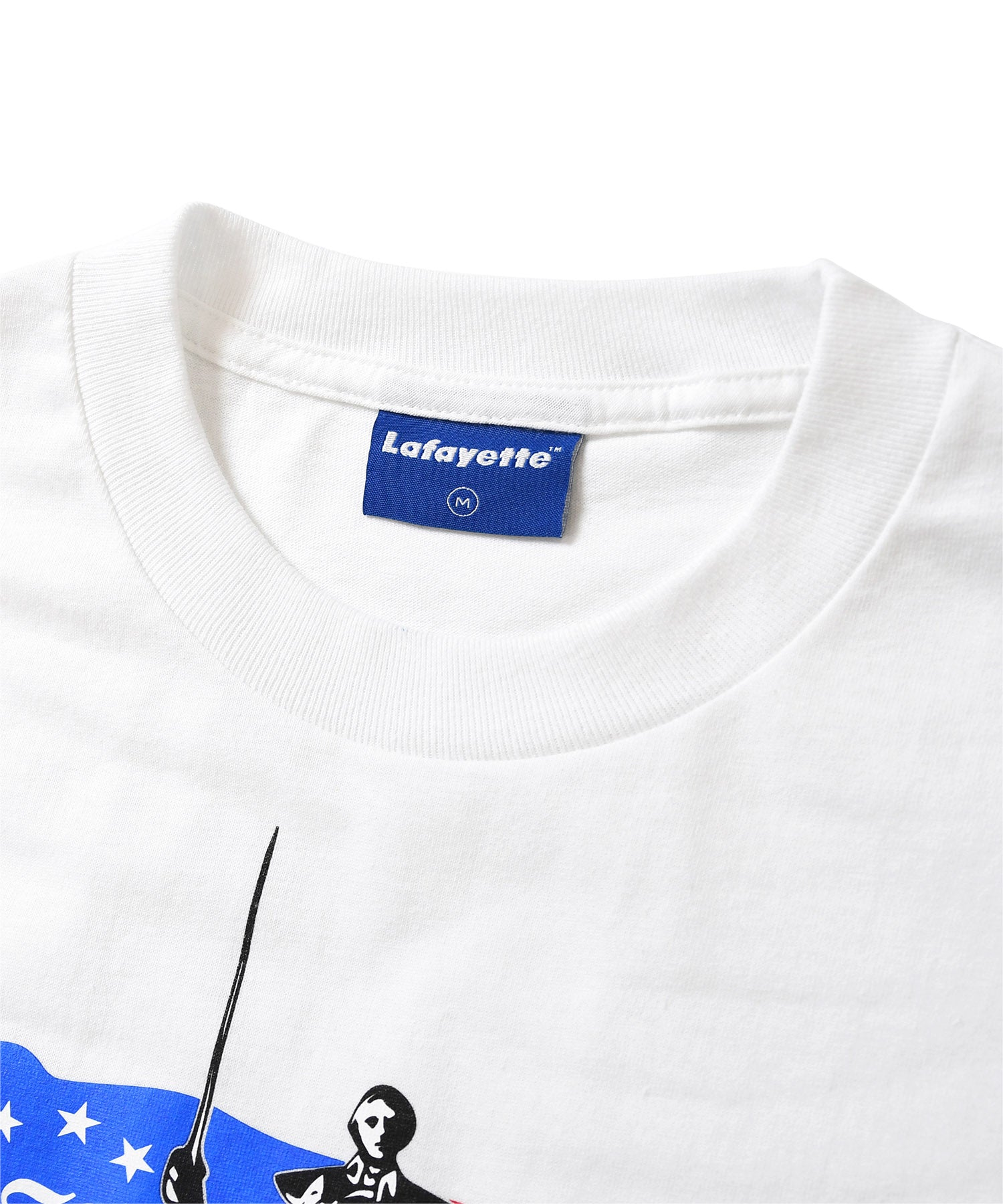 Lafayette LAFAYETTE IS COMING TEE LS200114 WHITE