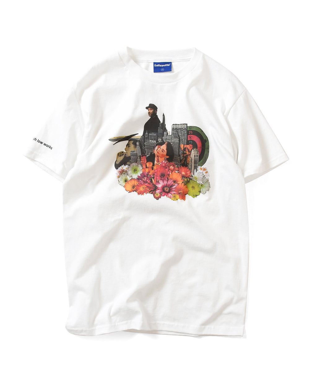 Lafayette × KILLIMAN JAH LOW WORKS KEEPING IT MOVING TEE LS200116 WHITE