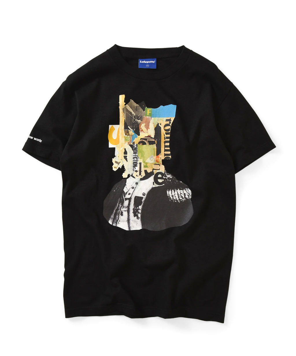 Lafayette × KILLIMAN JAH LOW WORKS BEHIND THE MASK TEE LS200117 BLACK