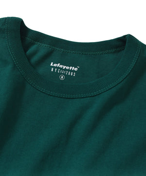 Lafayette SOLID POCKET TEE LS200119 GREEN