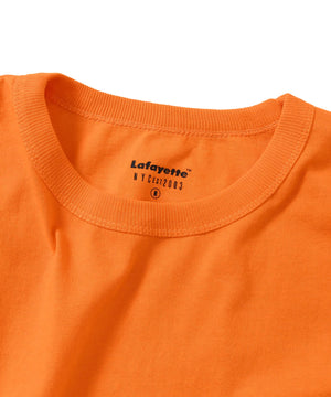 Lafayette SOLID POCKET TEE LS200119 ORANGE