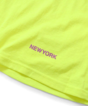 Lafayette UNION SQUARE METRONOME TEE LS200121 SAFETY GREEN