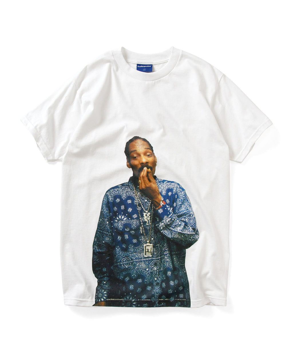 Lafayette × JOHNNY NUNEZ SNOOP DOG TEE LS200124 WHITE