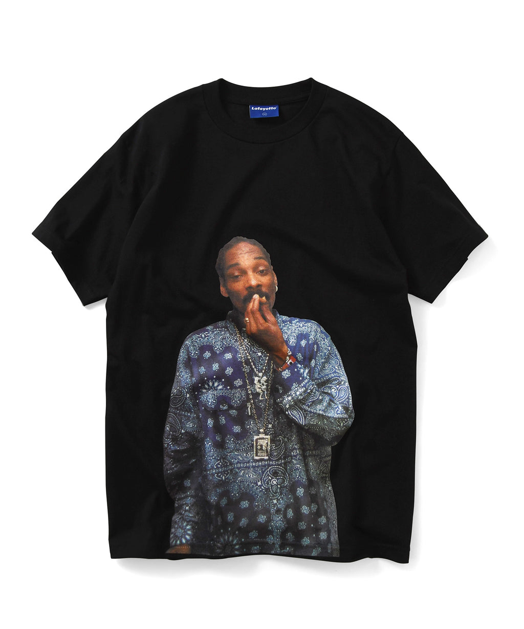 Lafayette × JOHNNY NUNEZ SNOOP DOG TEE LS200124 BLACK