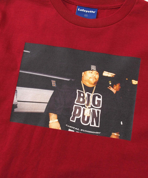 Lafayette × JOHNNY NUNEZ BIG PUN TEE LS200127 RED