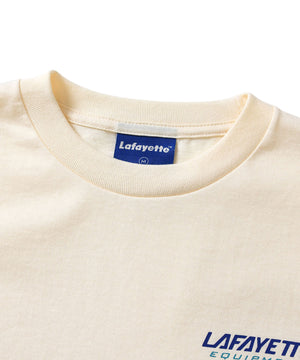 Lafayette EQUIPMENT LOGO TEE LS200133 NATURAL