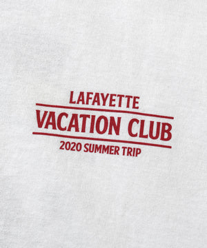 Lafayette VACATION CLUB TEE LS200136 WHITE