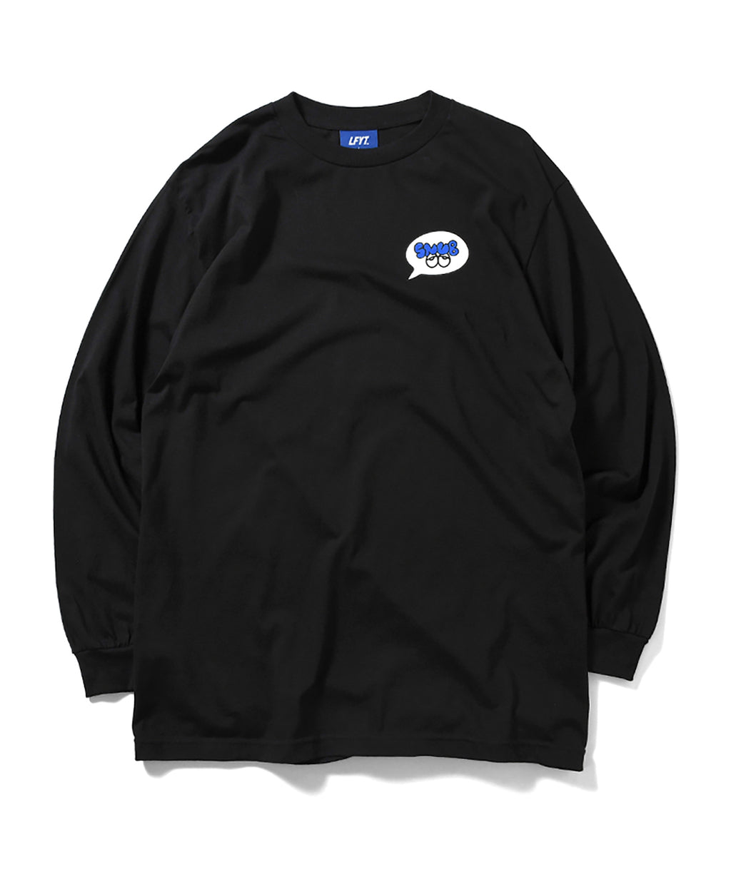 LFYT x Rabuns - THROW UP L/S TEE LA200103 BLACK