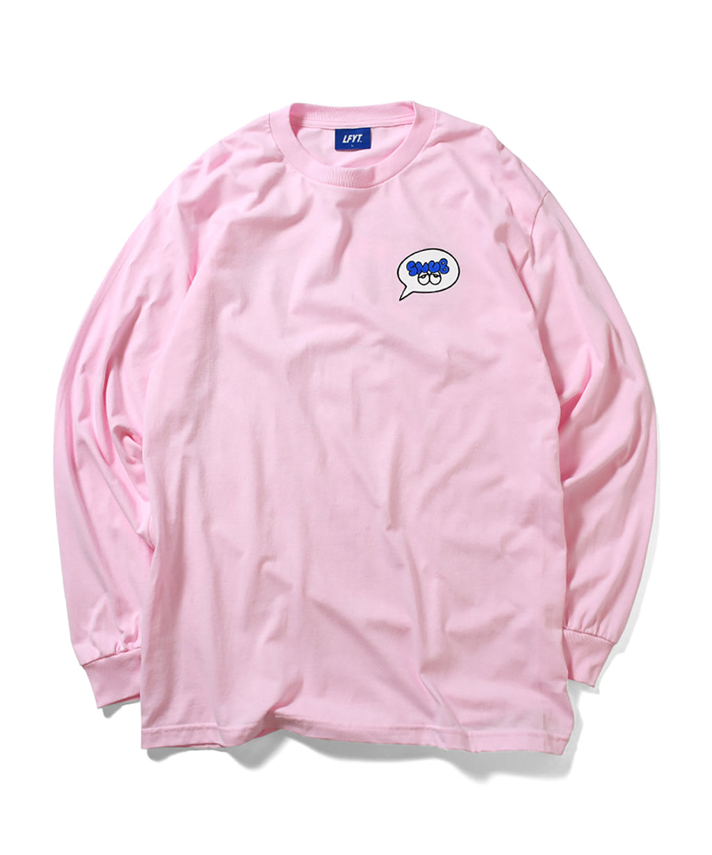 LFYT x Rabuns - THROW UP L/S TEE PINK LA200103