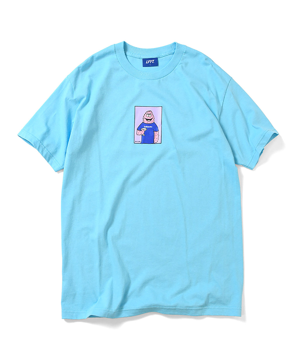 LFYT x Rabuns - CHEERS TEE LIGHT BLUE LA200104