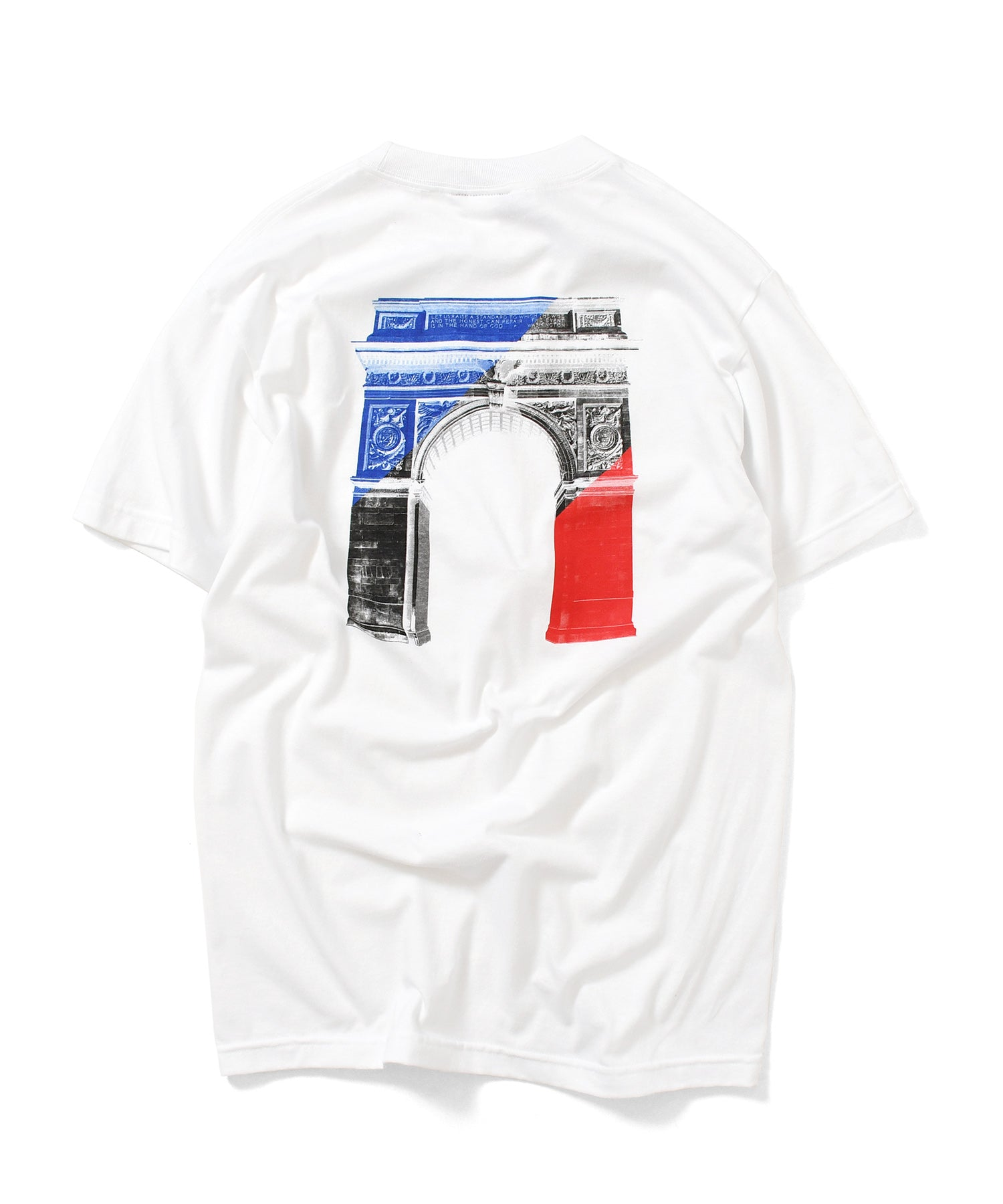 WASHINGTON SQUARE ARCH TEE WHITE LA200108