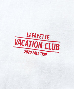 VACATION CLUB TEE WHITE LA200115
