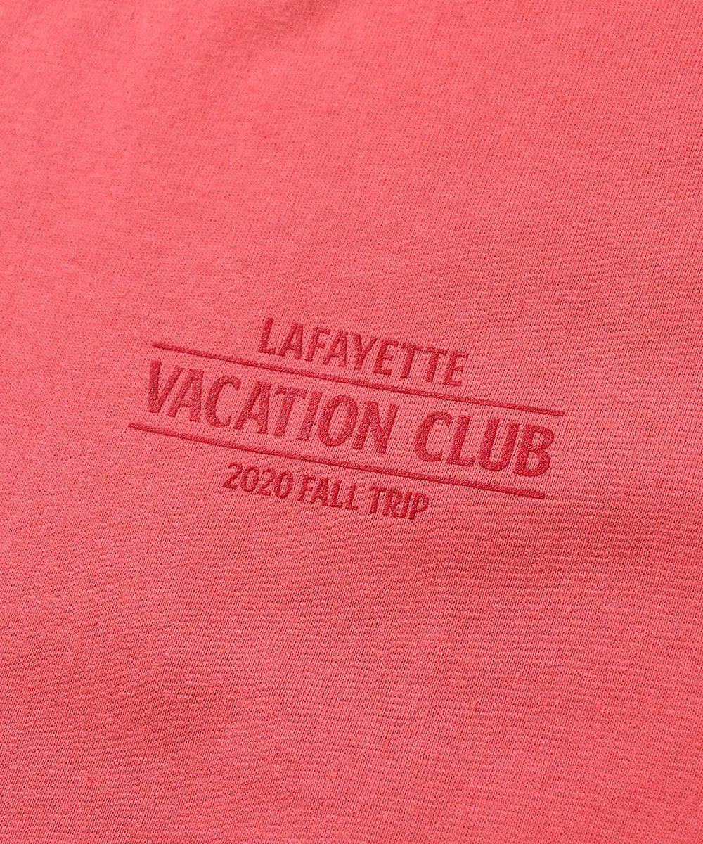 VACATION CLUB TEE PINK LA200115