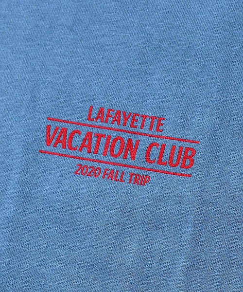 VACATION CLUB TEE BLUE LA200115