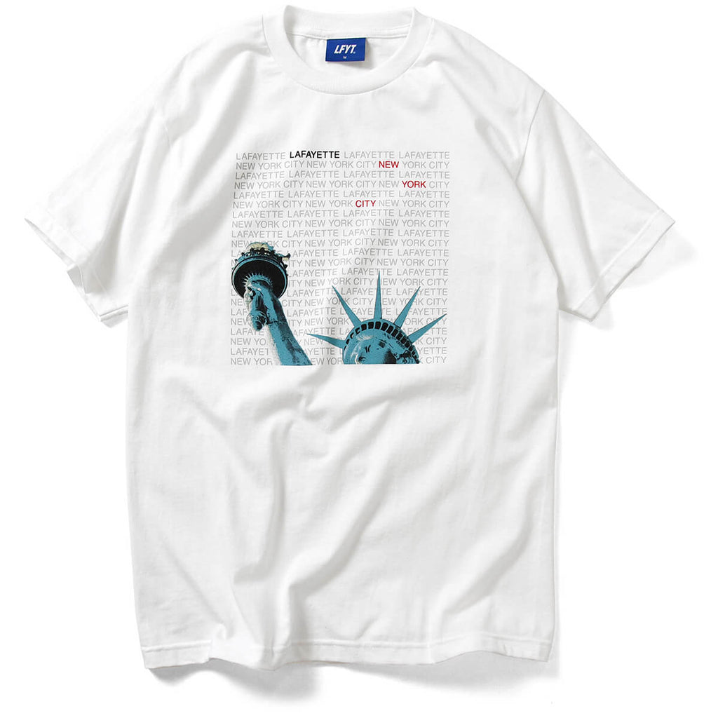 LIBERTY OF NY TEE WHITE LA200121