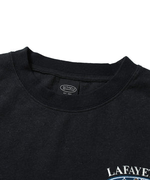 MANASTASH x LFYT MOUNTAIN RIDGE CITY SCAPE L/S TEE BLACK LE200115
