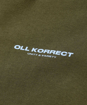 LFYT × OLL KORRECT TOUR BUS L/S TEE MILITARY GREEN LE200116