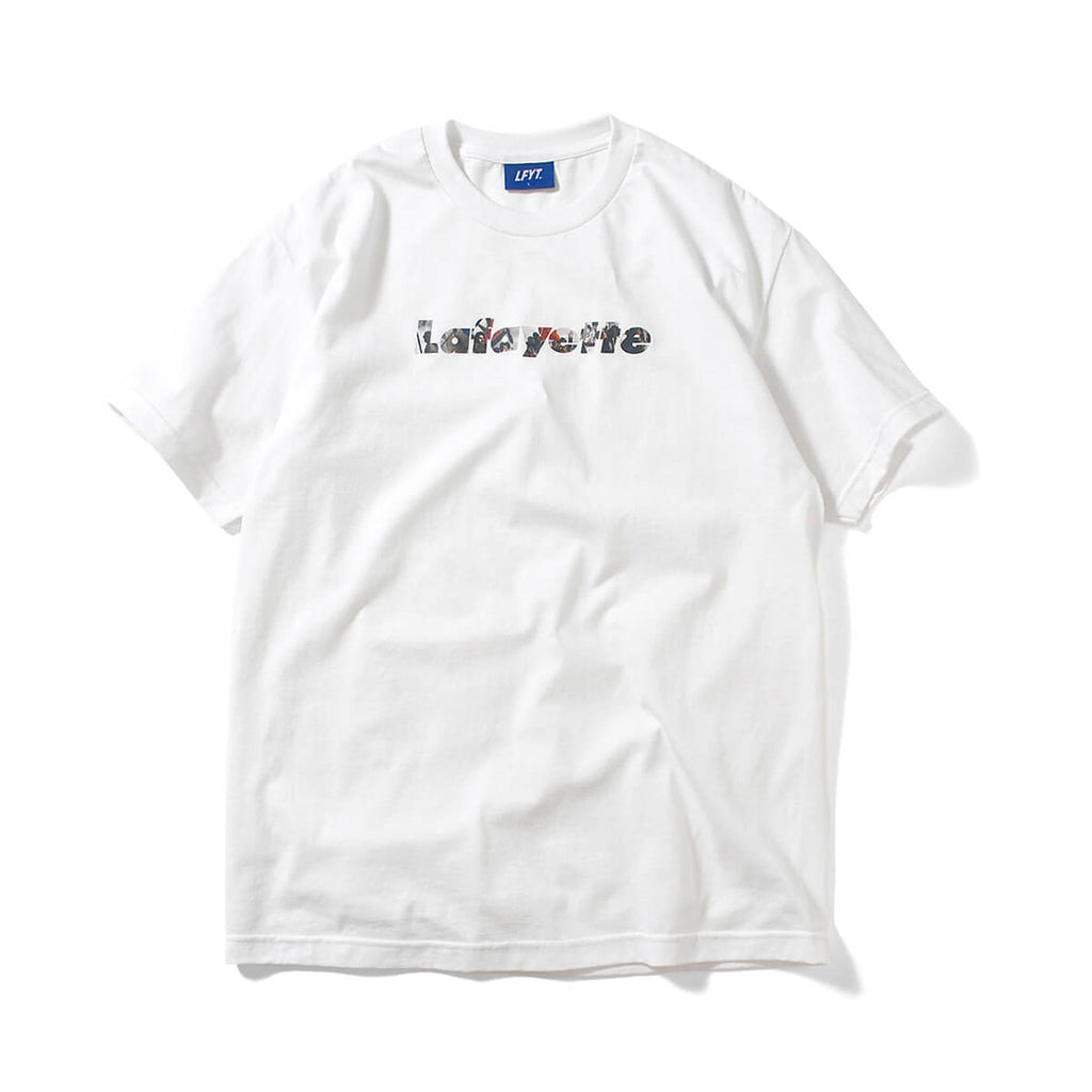 FRENCH REVOLUTION Lafayette LOGO TEE LS210101 WHITE