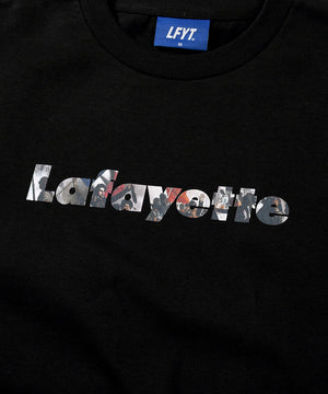 FRENCH REVOLUTION Lafayette LOGO TEE LS210101 BLACK