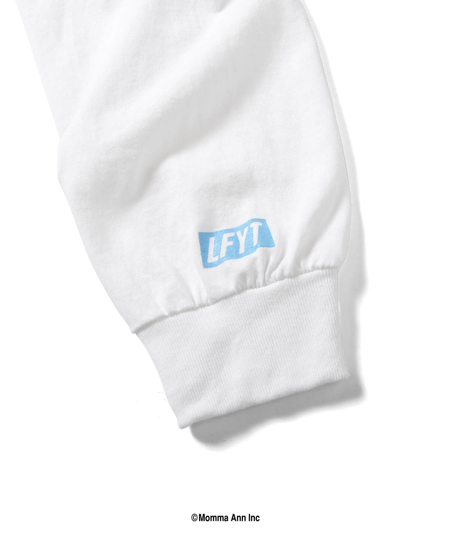 LFYT X NAS WORLD IS YOURS L/S TEE LS210106 WHITE