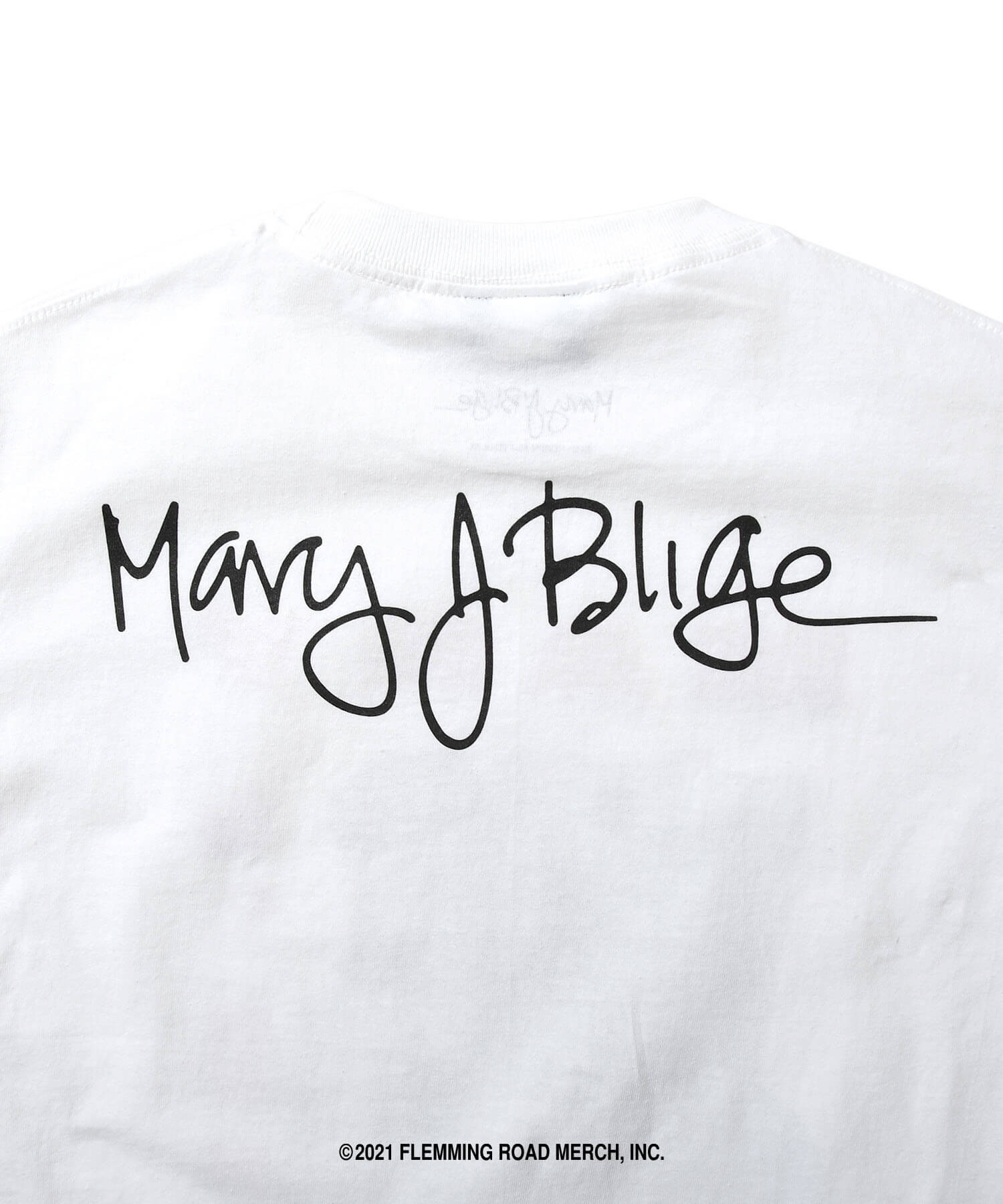 LFYT X MARY J.BLIGE REAL LOVE TEE LS210107 WHITE