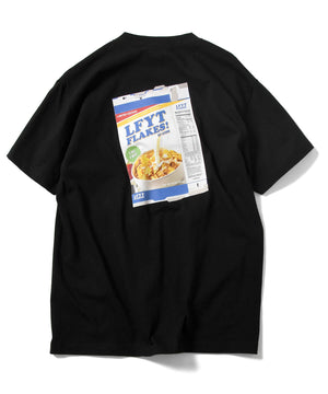 FLAKES! TEE LS210118 BLACK