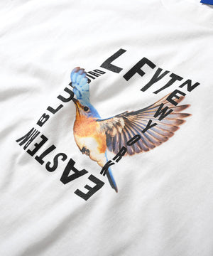 EASTERN BLUEBIRD TEE LS210119 WHITE