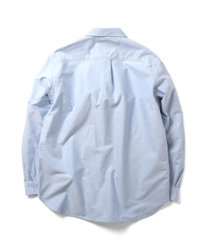 L LOGO BIG SILHOUTTE OXFORD SHIRT LS210201 BLUE