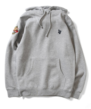 WWE 2020 LF LOGO HOODED SWEATSHIRT LA200504 HEATHER GRAY