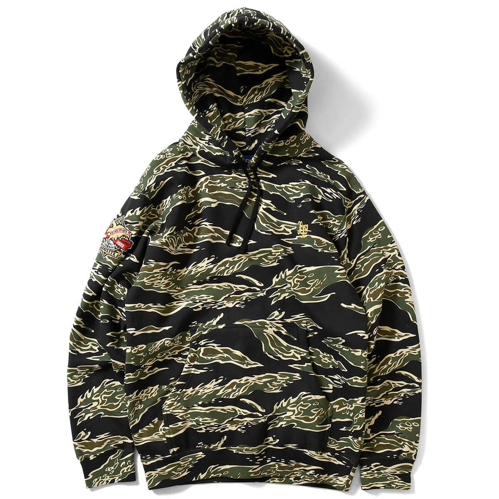 WWE 2020 LF LOGO HOODED SWEATSHIRT LA200504 TIGER CAMOUFLAGE
