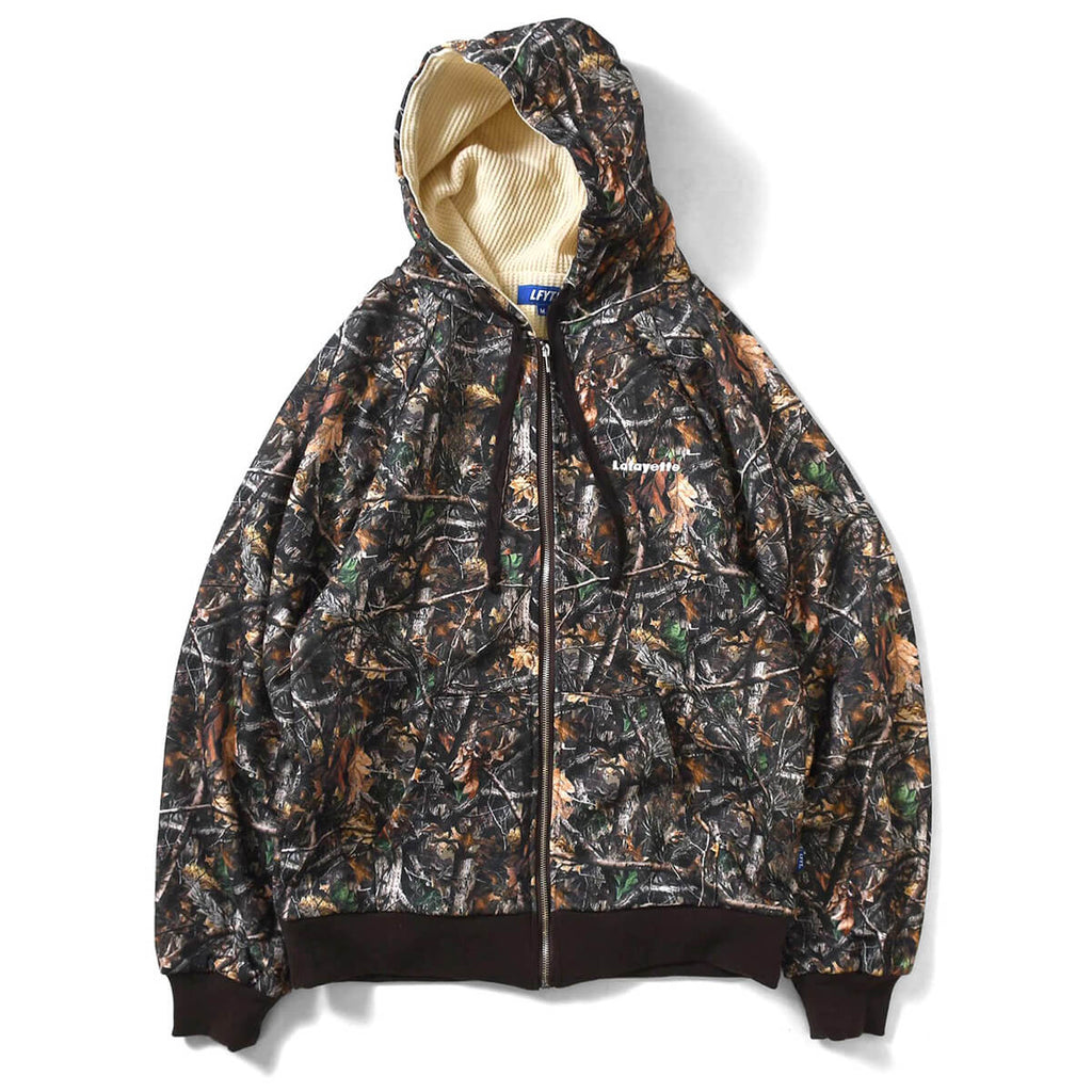 REAL TREE CAMO WAFFLE LINER FULL ZIP HOODIE REALTREE LA200505