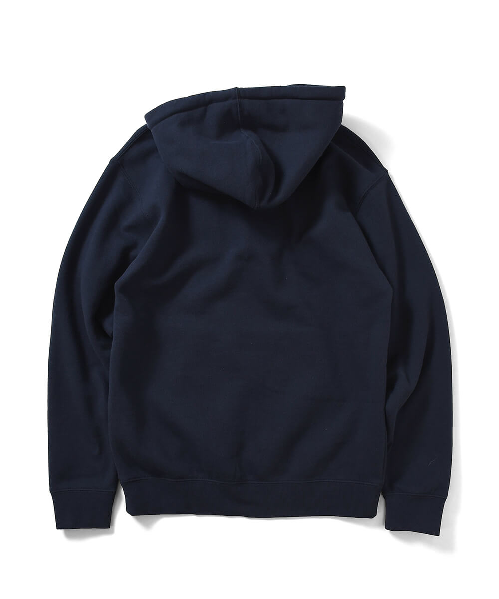 NY RADIO HOODED SWEATSHIRT NAVY LA200508