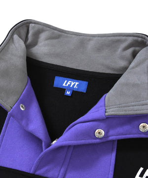 CLASSIC TECH SWEAT ANORAK PURPLE LA200703