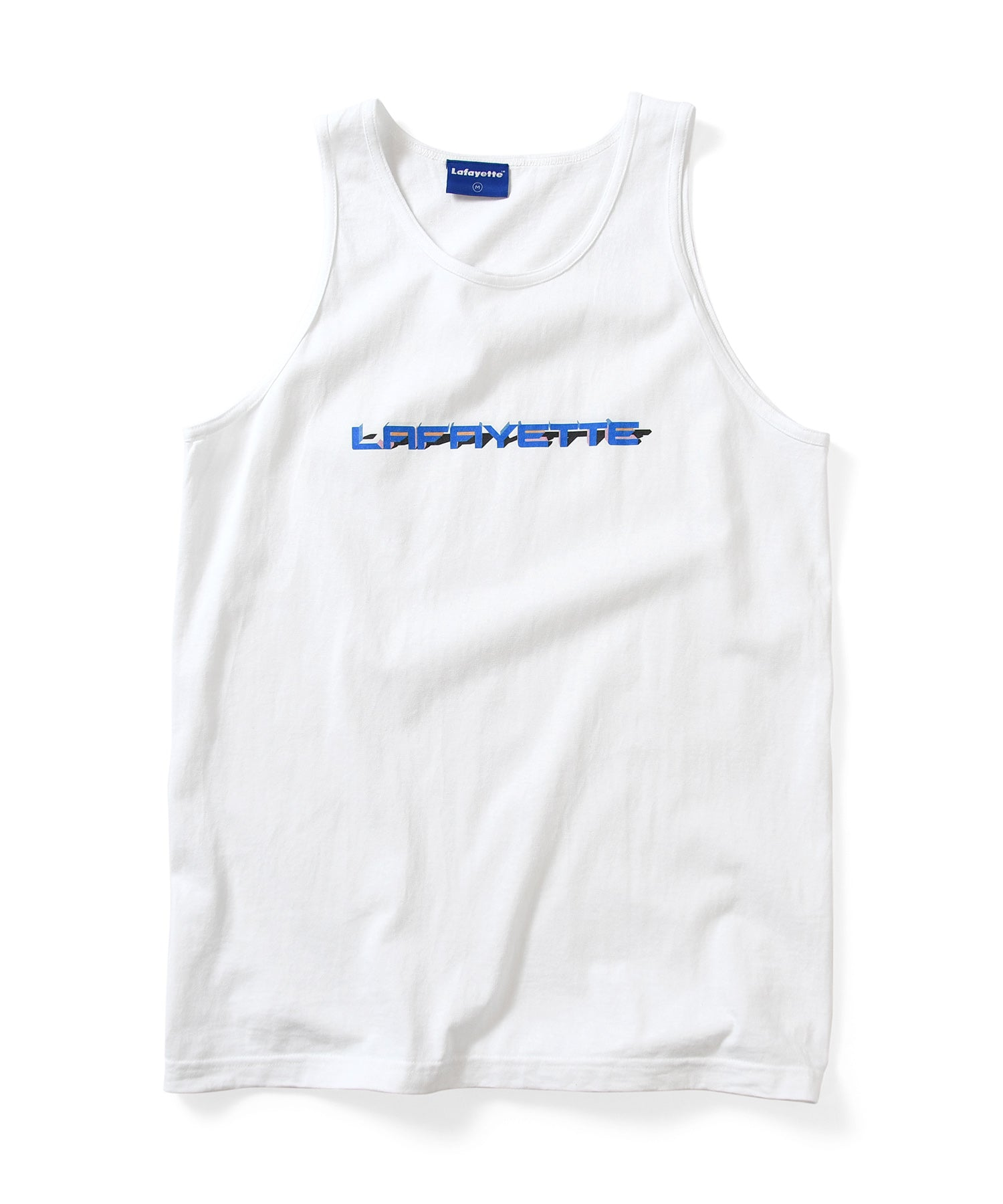 Lafayette 90S POLYGON LOGO TANK TOP LS200138 WHITE