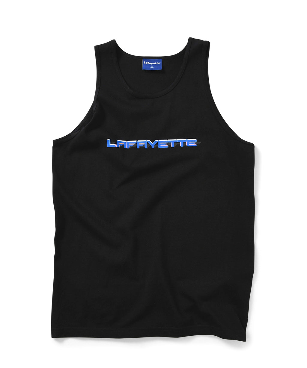 Lafayette 90S POLYGON LOGO TANK TOP LS200138 BLACK