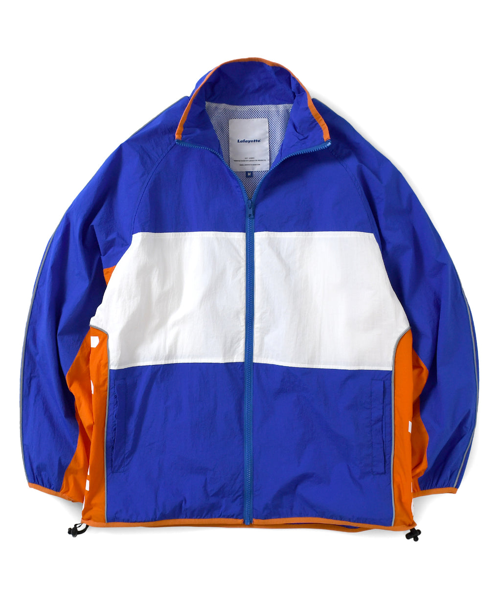Lafayette COLORBLOCK NYLON TRACK JACKET LS201002 ROYAL