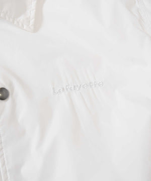 Lafayette BASIC COACH JACKET LS201003 WHITE