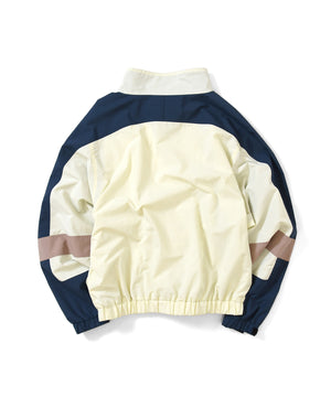 SPORT NYLON TRACK JACKET NATURAL LA201002